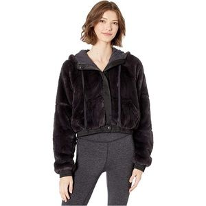 NWT FP Movement Furry Hoodie Jacket